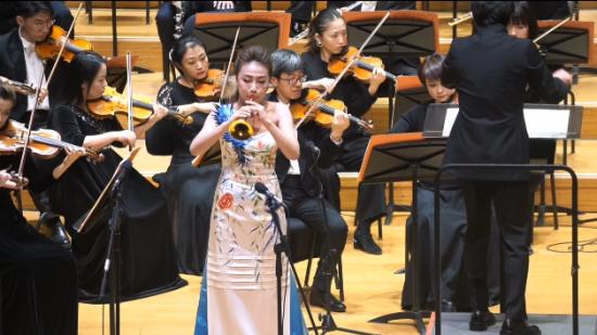 当唢呐遇上交响乐!黔籍演奏家张倩渊唢呐独奏音乐会在京上演