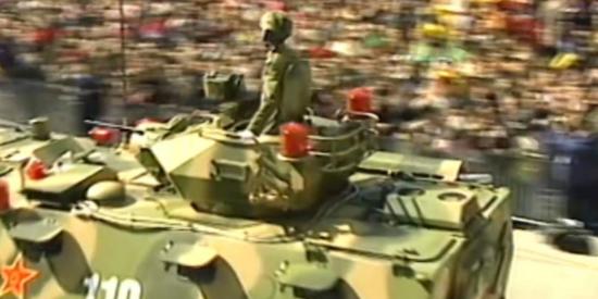 感动!解放军进驻澳门全程珍贵画面