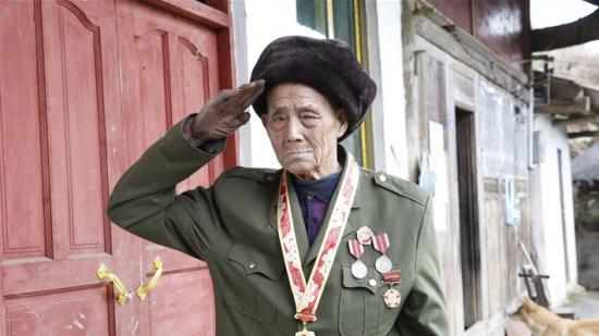 88岁遵义籍战斗英雄陈文魁:尘封的军功章 不朽的家国情