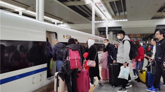 【春运·共享发展的旅程】高铁,不一样的春运打开方式