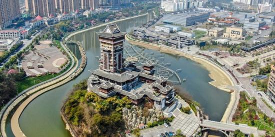 毕节倒天河:绿水绕城市 生态更宜居