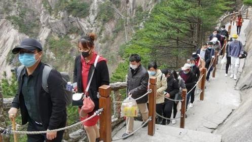 景区又现人从众,报复性旅游来了!钟南山的提醒还是要听