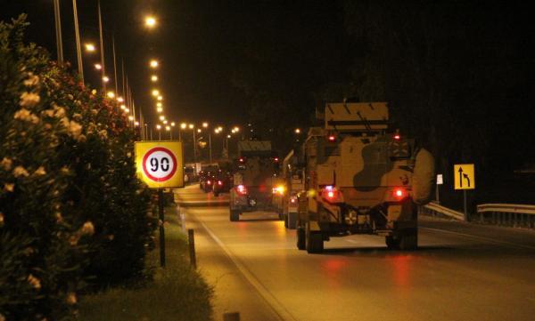 不顾美国警告,土耳其集结部队即将越境袭击叙利亚库尔德武装